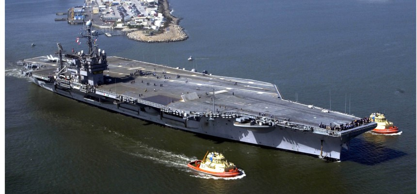 May 27, 1967 – The USS John F. Kennedy Becomes the Last Conventionally Powered Carrier Built for the US Navy. Every Carrier Since has been Powered by Nuclear.